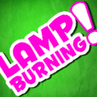 lamp burning_quadrado140