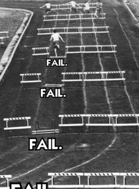 Fail fail e fail...